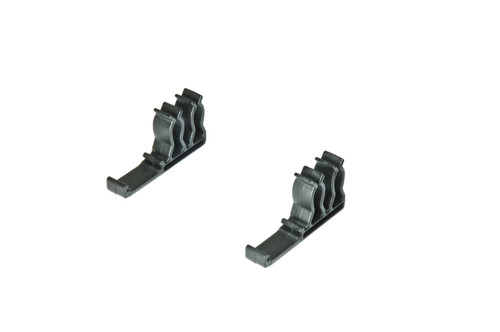 "1/4"" Side Mount Ratchet & Extension Holder - Black-1/4"""
