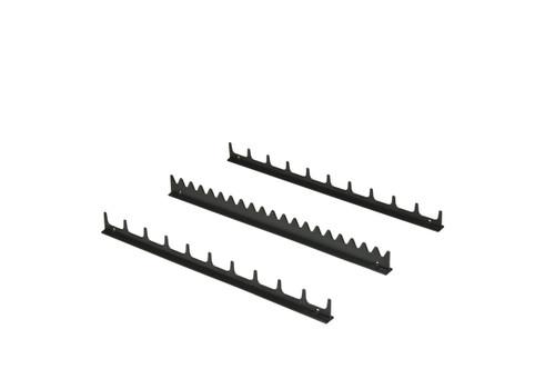 20 Tool Screwdriver Rail Set  w/ Tape - Black