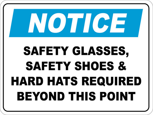 Notice : Personal Protective Equipment (PPE) Floor Sign