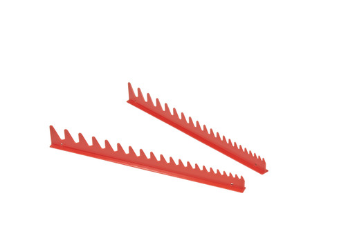 20 Tool Wrench Rail Set  w/Tape Backing - Red