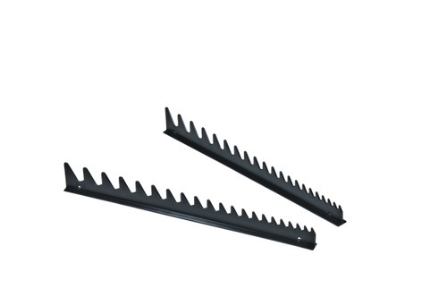 20 Tool Wrench Rail Set  w/Tape Backing - Black