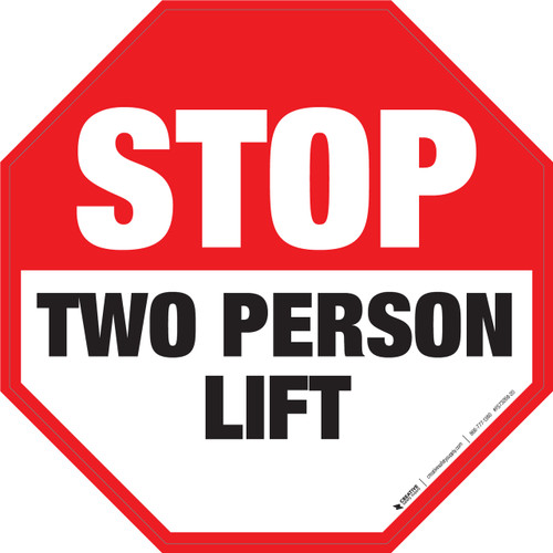 Stop Signs For Industrial use - Floor and wall Signs