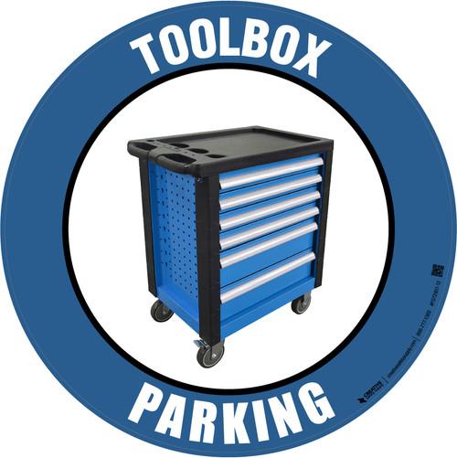 Toolbox Parking -  Floor Sign