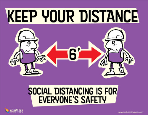 Keep Your Distance - Poster