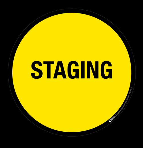 Staging - Floor Sign