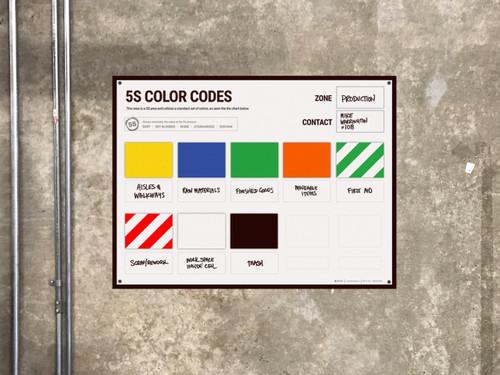5s board color guide