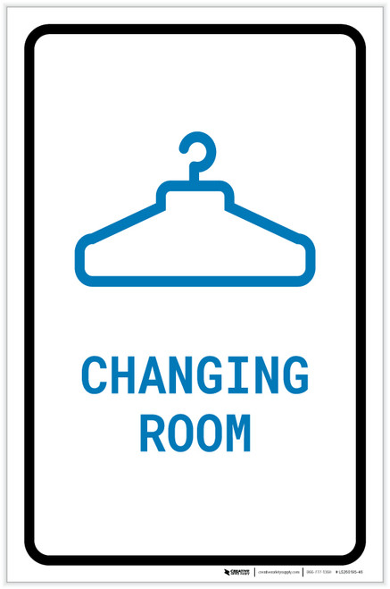 Changing Room with Icon Portrait v2 - Label