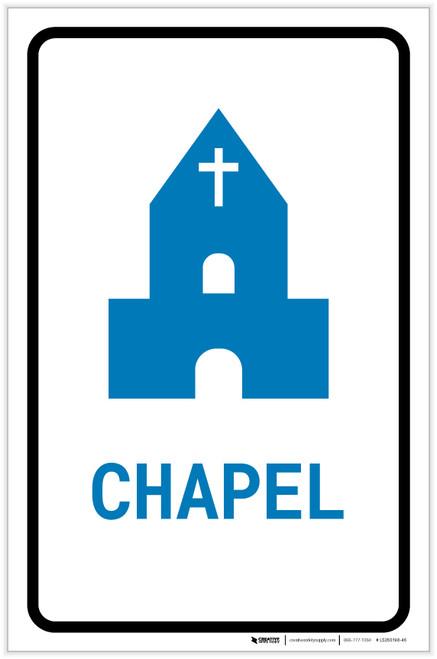 Chapel with Icon Portrait v2 - Label