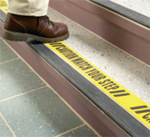 """Caution Watch Your Step 3""""x60'"""