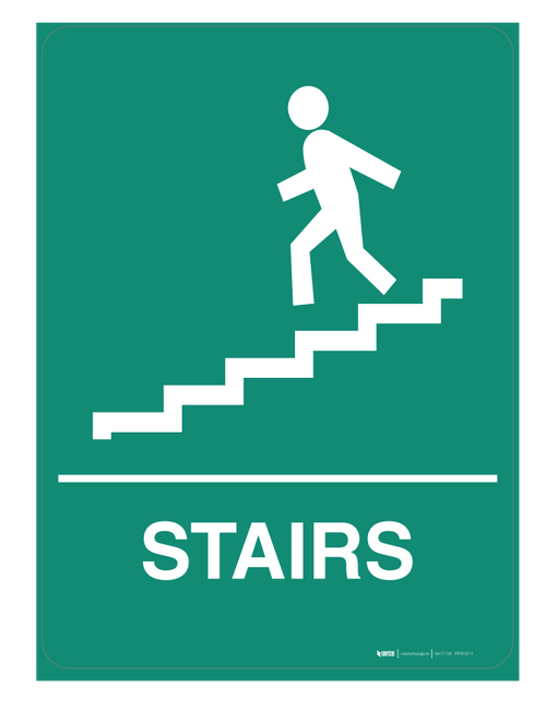 Stairs - Wall Sign