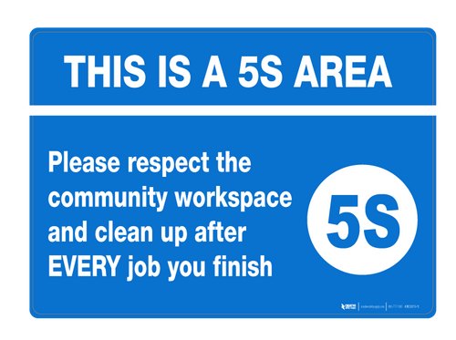 5S Signs | Creative Safety Supply
