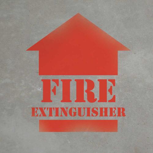 Fire Extinguisher - Stencil