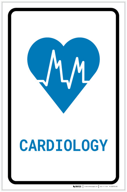 Cardiology with Icon Portrait v2 - Label