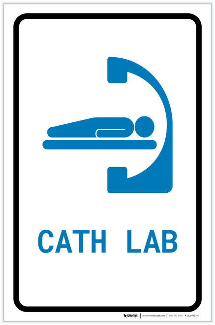 Cath Lab with Icon Portrait v2 - Label