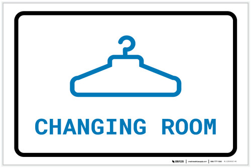 Changing Room with Icon Landscape v2 - Label