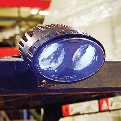 Forklift Led Safety Warning Spotlightled Amber Strobe Light Combo