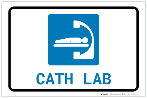Cath Lab with Icon Landscape - Label