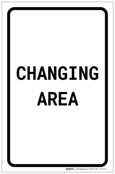 Changing Area Portrait - Label