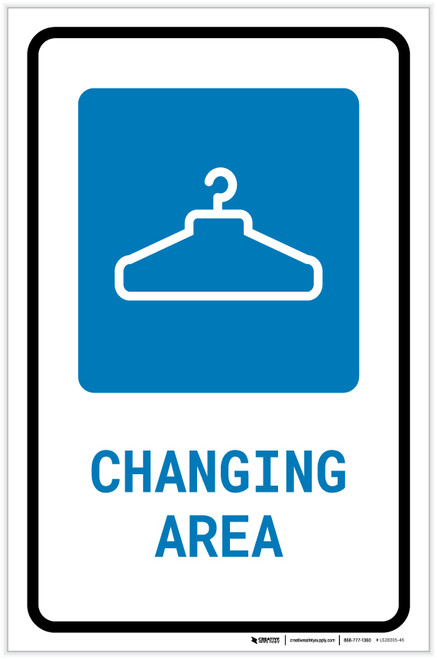 Changing Area with Icon Portrait - Label