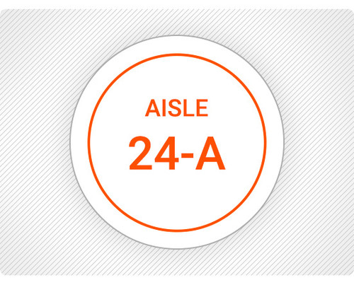 Custom Aisle Floor Sign
