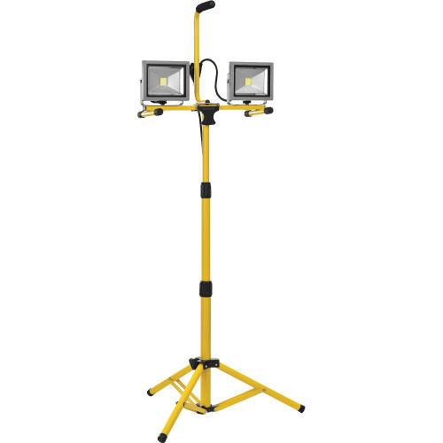 Global™ Portable 3,200 Lumen Dual LED Work Light with Tripod