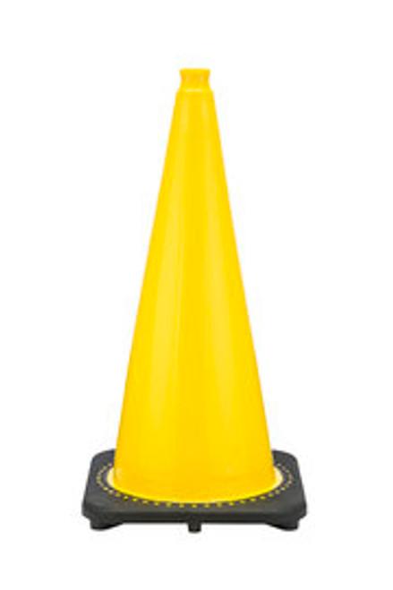 "JBC™ 28"" Yellow PVC Revolution Series Traffic Cone"