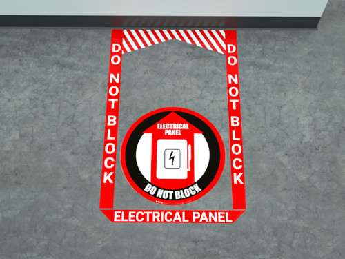 Electrical Panel - Pre Made Floor Sign Bundle