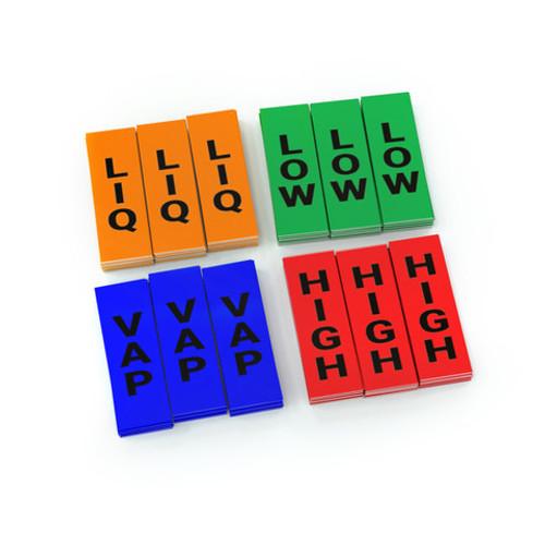 LabelTac Ammonia Sticker Pack