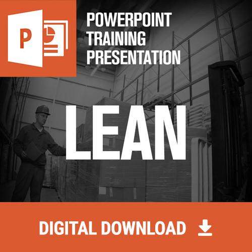 Lean Powerpoint Training - Digital Download