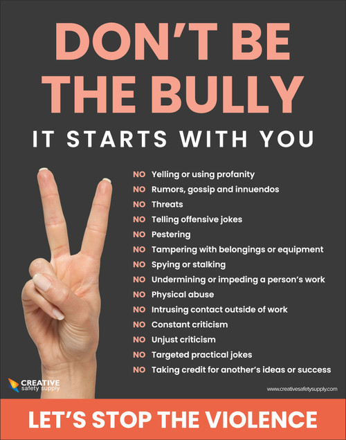 Don't Be The Bully - It Starts With You - Poster