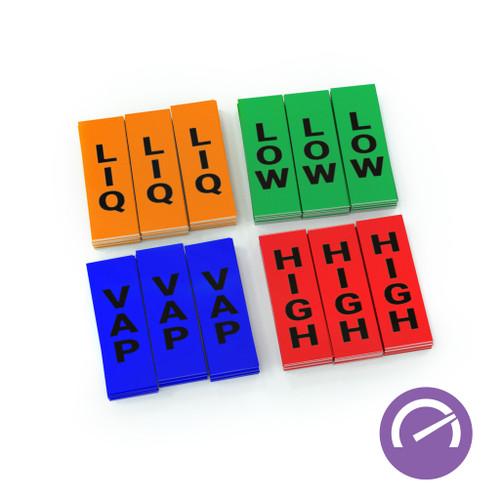 LabelTac High Performance Ammonia Sticker Pack