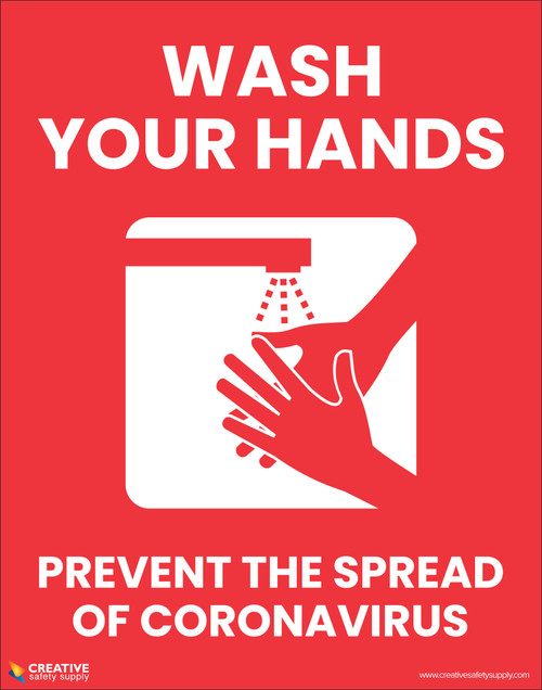 Wash Your Hands Prevent The Spread Of Coronavirus - Poster