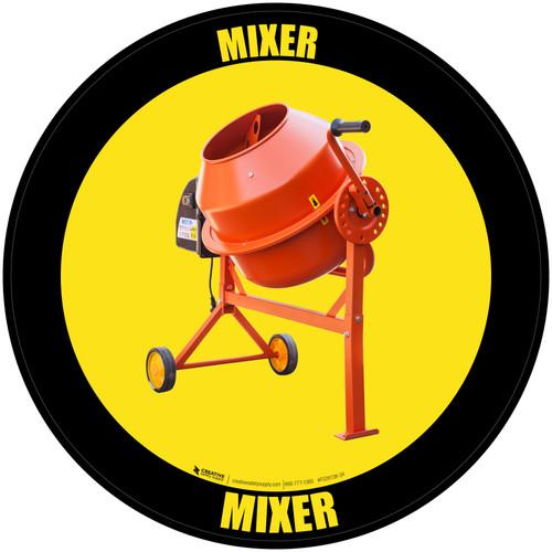 Mixer - Floor Sign