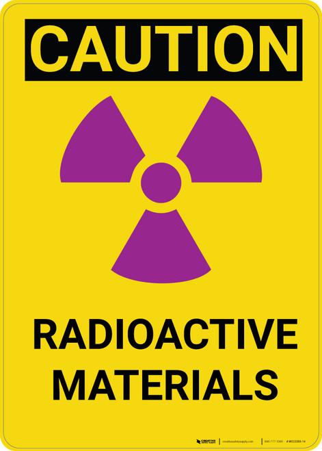 Radioactive Signs | Creative Safety Supply