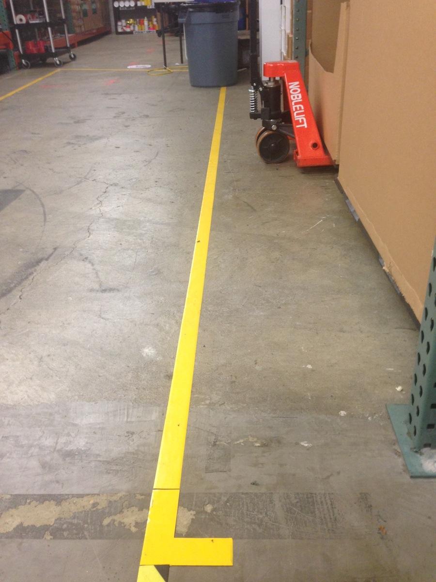 Floor Aisle Marking Tape