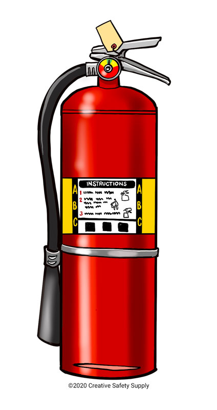 Class C Fire Extinguisher