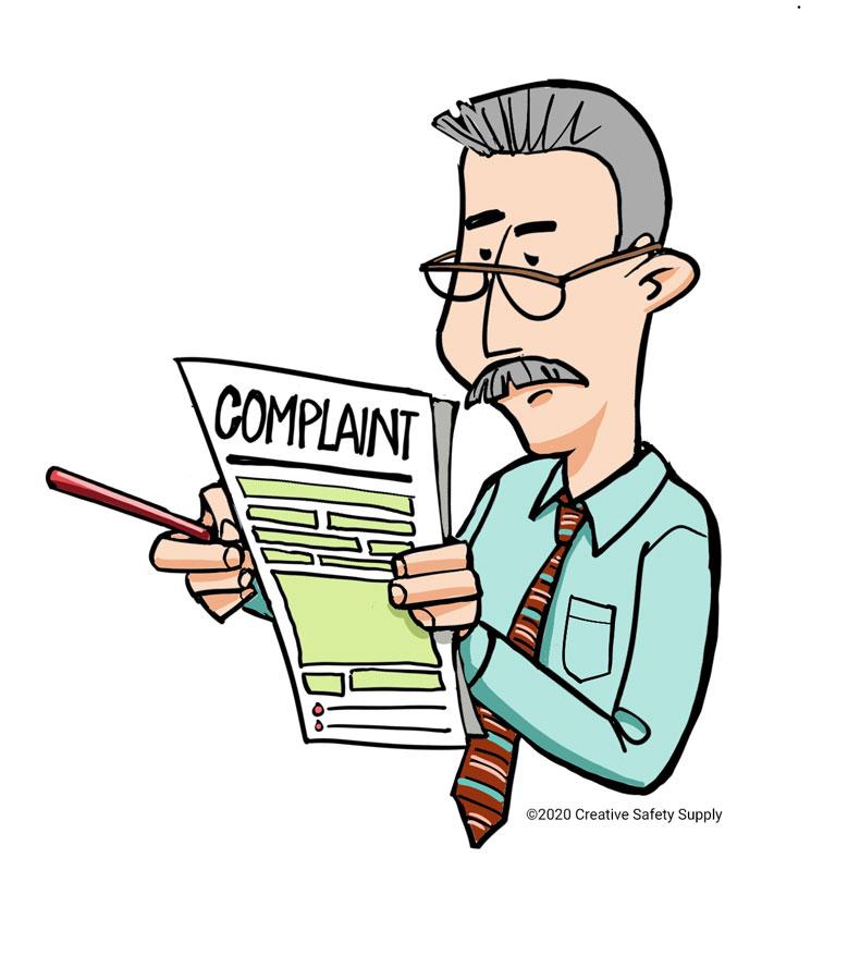 GMP complaint inspection