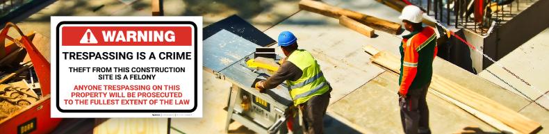 Construction Warning Signs