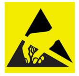 ESD hazard icon