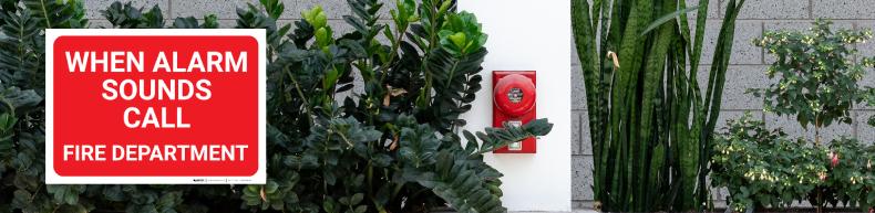 Fire Alarm Labels