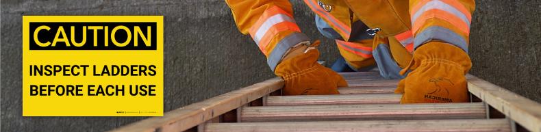 Ladder Safety Labels