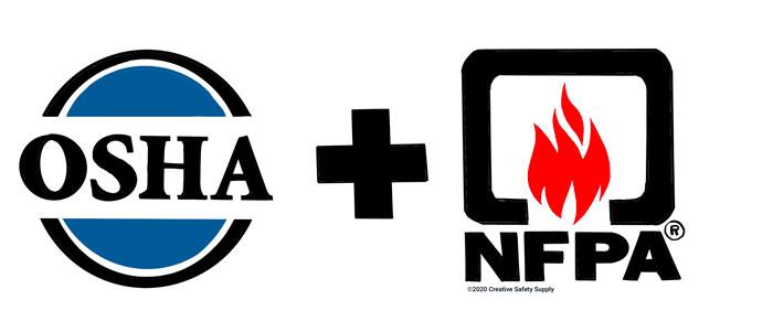 OSHA and NFPA Logos