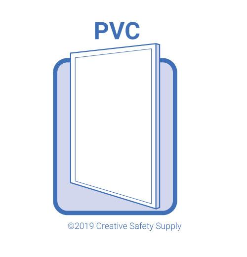 pvc plastic sign material