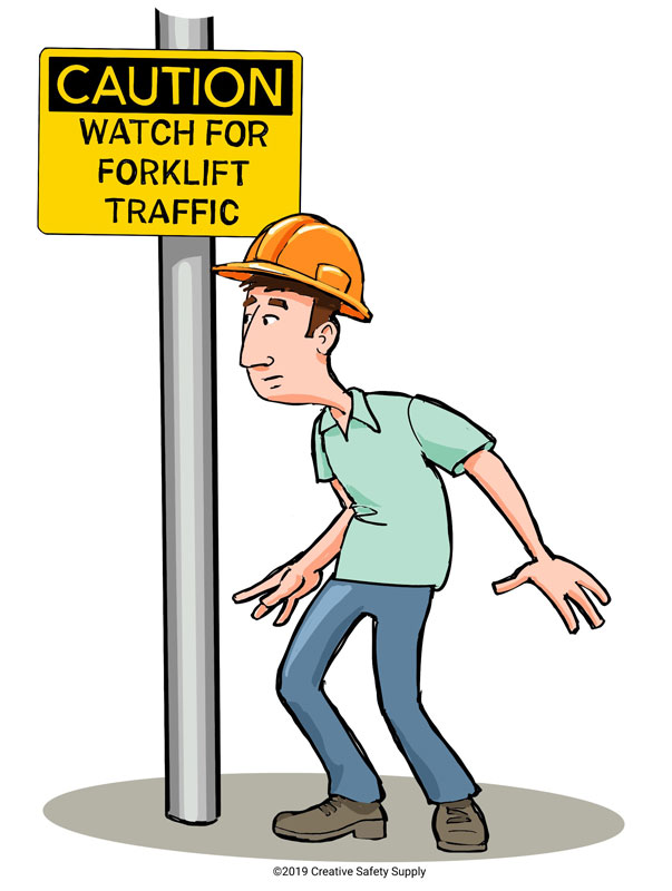 Caution Safety Sign