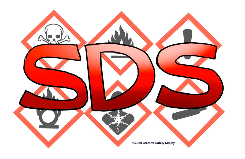 SDS with hazard pictograms