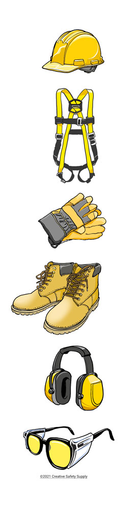 Construction site PPE