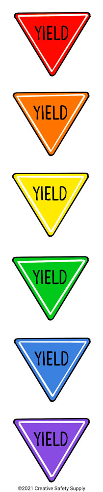 Yield Sign Colors
