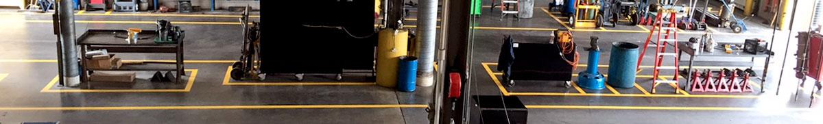 OSHA Floor Marking