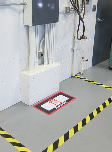 Osha Floor Marking Creative Safety Supply