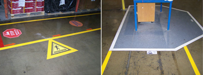 Custom Building Products - Floor Marking